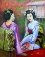 Doua gheise/Two geisha