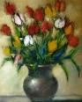 Vas cu lalele/Tulips pot