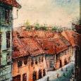 Peisaj la Sibiu/Landscape from Sibiu