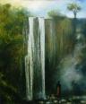 Cascada in Kenya/Waterfall in Kenya