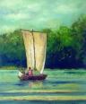 Vela pe Loara/Boat on Loire